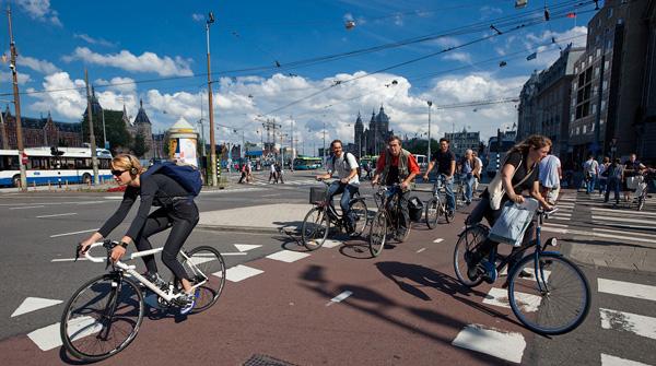 в Амстердаме-