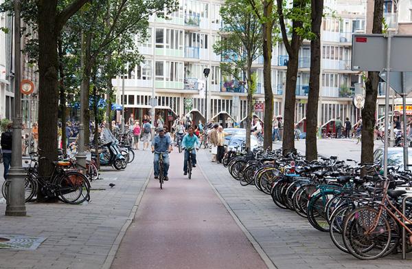 в Амстердаме--