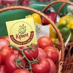 Ранние свежие овощи на нашем столе