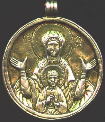 13 век-христианский змеевик