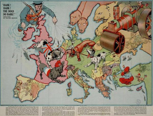 1914-Союзники – это враги, у которых есть общий враг
