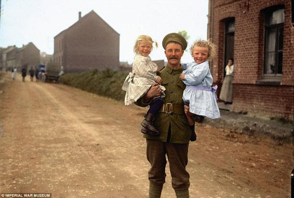 1917-10. Британский солдат