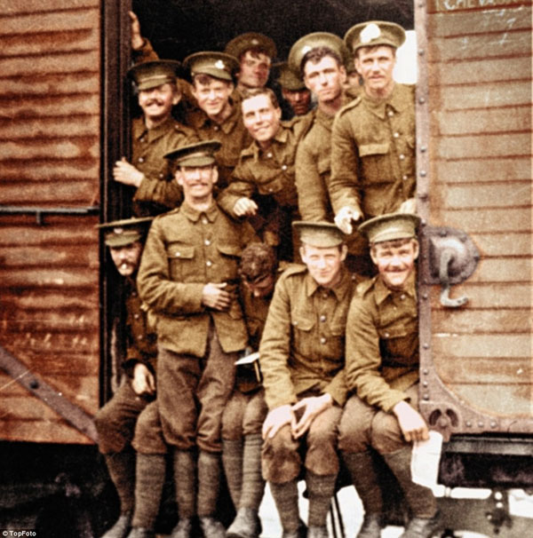 1917-11. В 1916 году британские войска