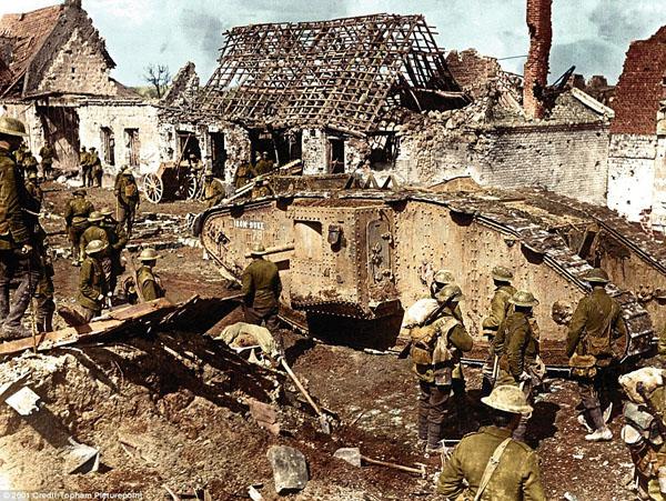 1917-7. Первые британские танки