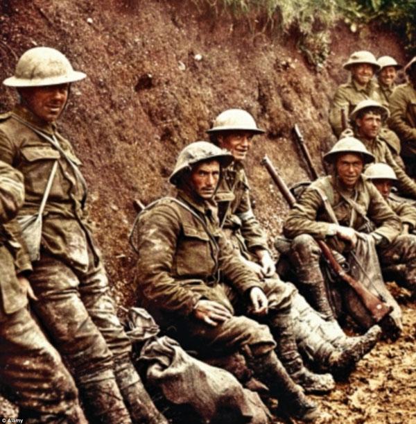 1917-9. Солдаты королевских Ирландского