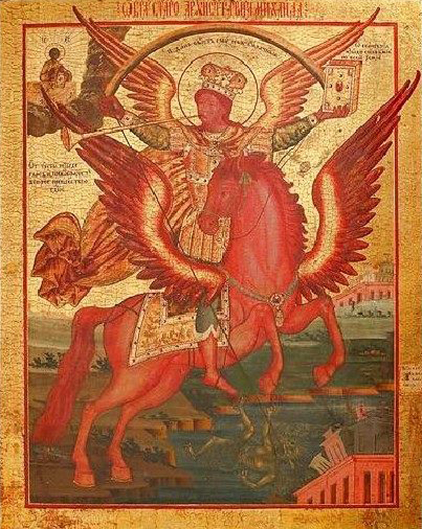 Archangel Michael of the Apocalypse-=
