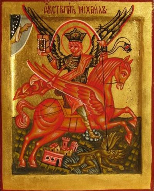 Archangel Michael of the Apocalypse-