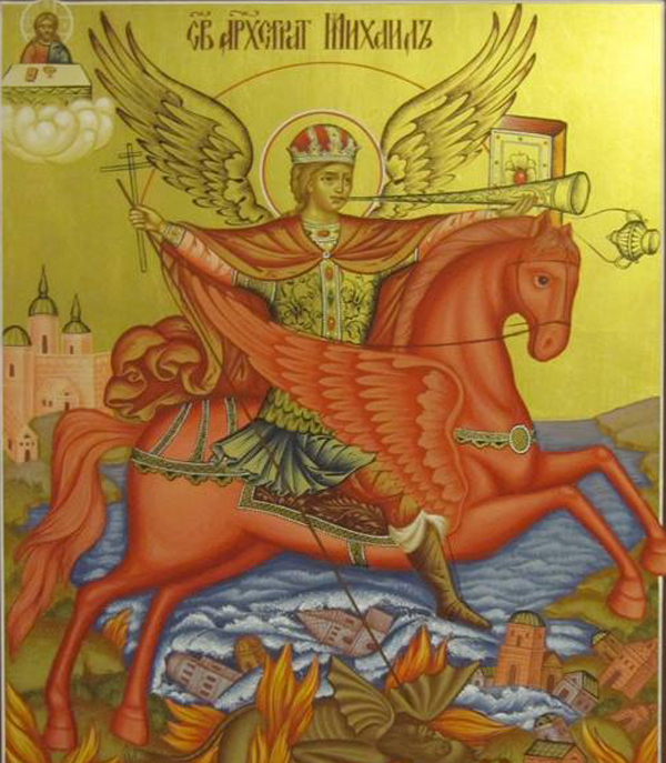 Archangel Michael of the Apocalypse=
