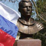 Памятник Юрию Гагарину в Евпатории