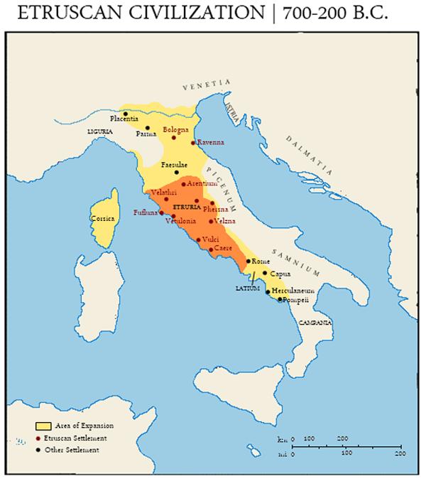 карта-700-200 г. до н.э.