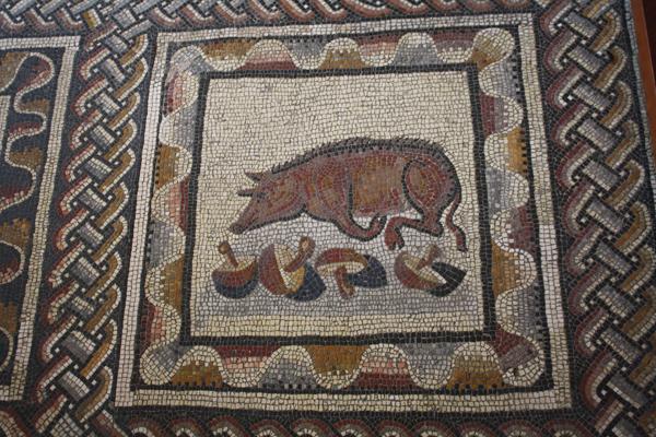 рим-мозаика-грибы-свин