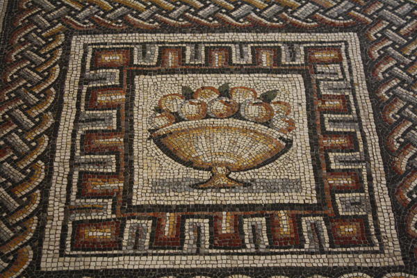 Fruit, Roman Mosaic 350г.до н.э.