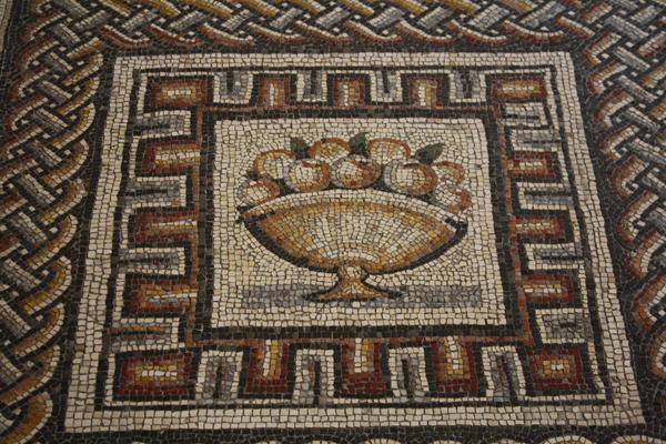 Fruit, Roman Mosaic 350г.до н.э.