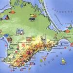 Как добраться до «острова Крым»?