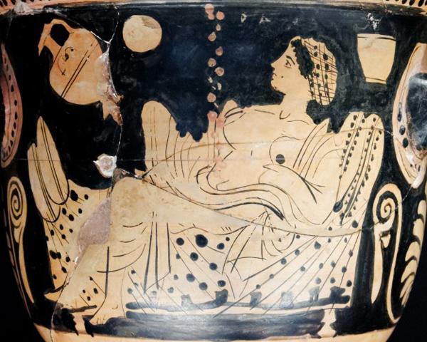 danae_gold_shower_краснофигурная ваза в Биотии