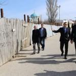 Евпатория встречает делегацию Совета министров Крыма.