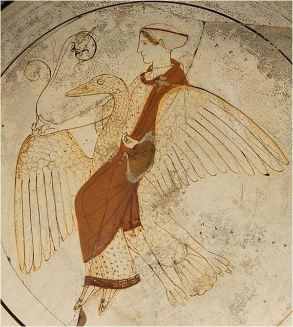 Афродита-Леда и Лебедь