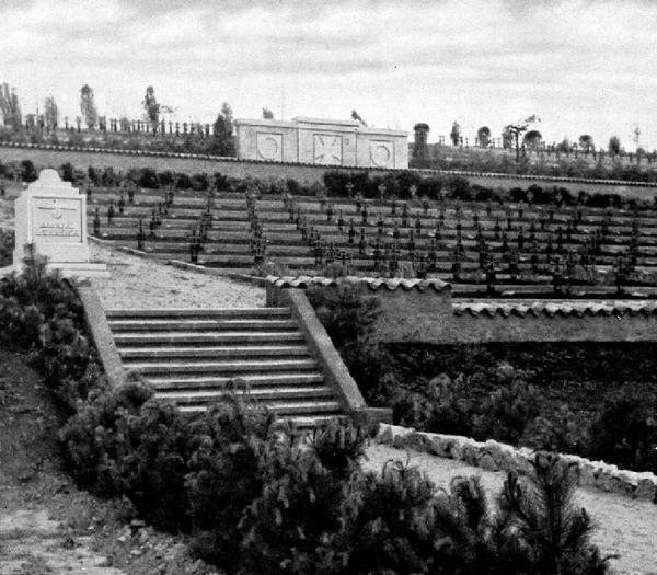 Немецко-фашистское кладбище в Старом Крыму