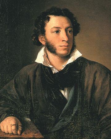 Василий Тропинин. Портрет А.С. Пушкина. 1827
