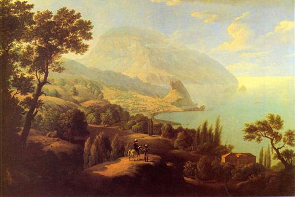 Пушкин-Gurzuf-v-1820-e-goda