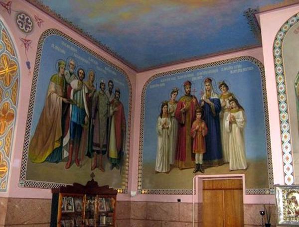 ильинский храм-фрески