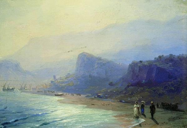 пушкин на берегу