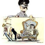 Карикатуры Кукрыниксов как оружие победы