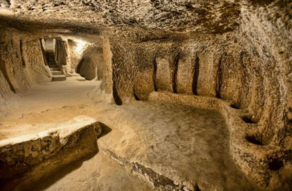 5000-летний подземный город в Каппадокии
