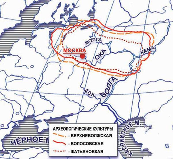1-неолитич. культуры Русской равнины-от 5240 лет до н.э.