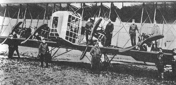 Первый в мире четырехмоторный бомбардировщик «Илья Муромец