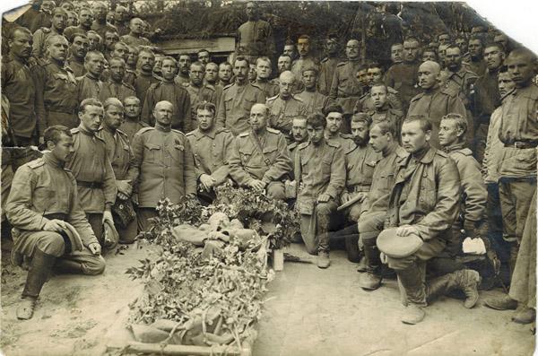 Похороны боевого товарища