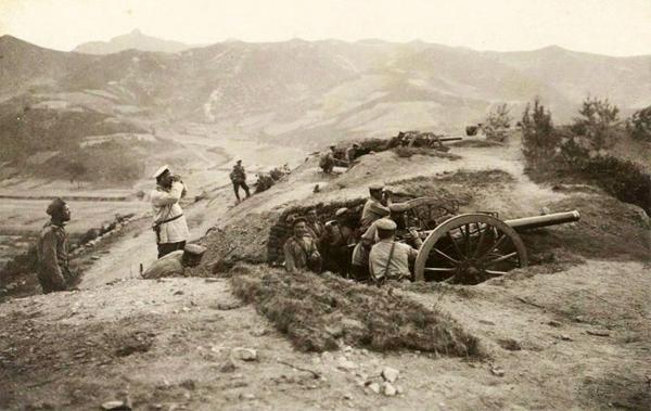 арм-рус-14 июня 1904 гю 1-й батареи 6-го Вост-Сиб. арт.бриг--