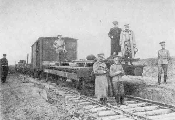 арм-рус-1914-Укладочный поезд