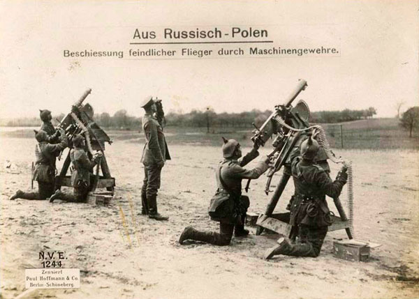 арм-Russian Poland- machine guns firing