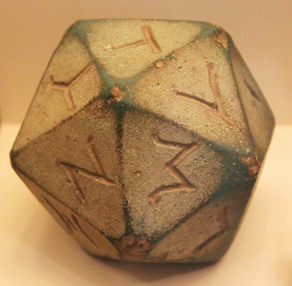 игр.кости-Александрия, Египет, эллинистич. пер.- 305-30 гг. до н.э.