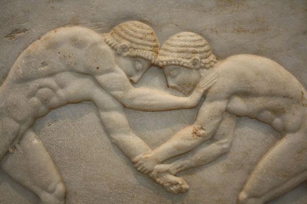 спорт-греч. борцы-510 г н.э.