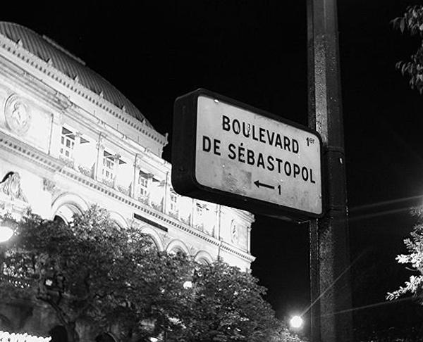 Бульвар Севастополь в Париже