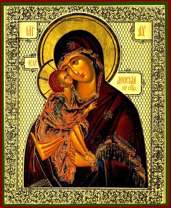 Донская икона Божией Матери.