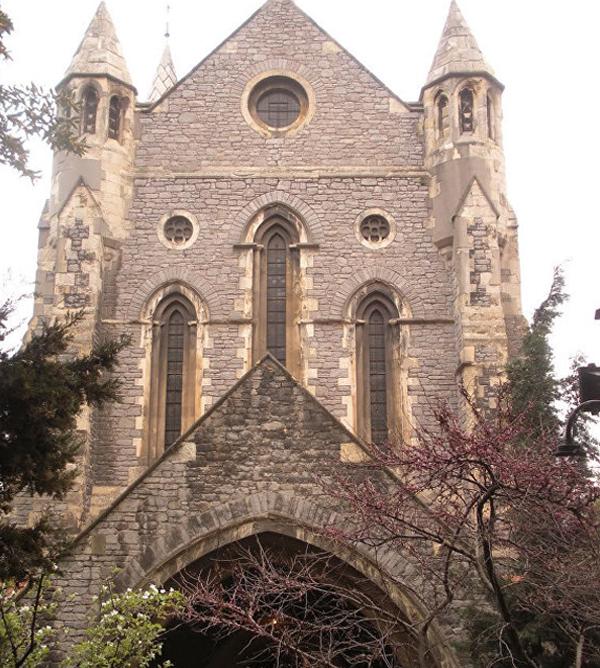 Мемориальная церковь Крымской войны в Стамбуле