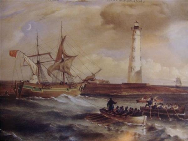 Снятие выброшенного штормом судна с мели