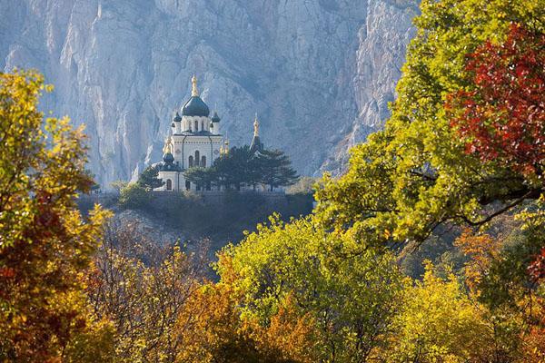 пейзаж с Форосской церковью