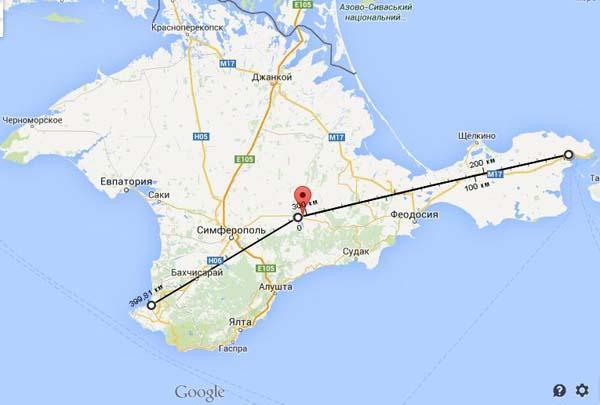 четырехполосную трассу от Керчи до Севастополя