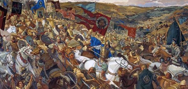 8 сентября 1380 года Дмитрий Донской разгромил войска Мамая на Куликовом поле.