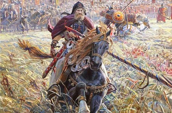 8-сент-Монах-воин Александр Пересвет (1943-Авилов)