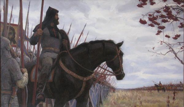 8-сент-бой Пересвета с Челубеем на Куликовом поле- (1943-Авилов)
