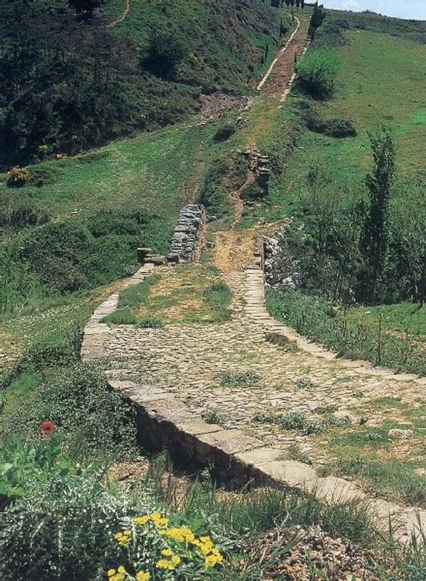 Cirauqui_chemin
