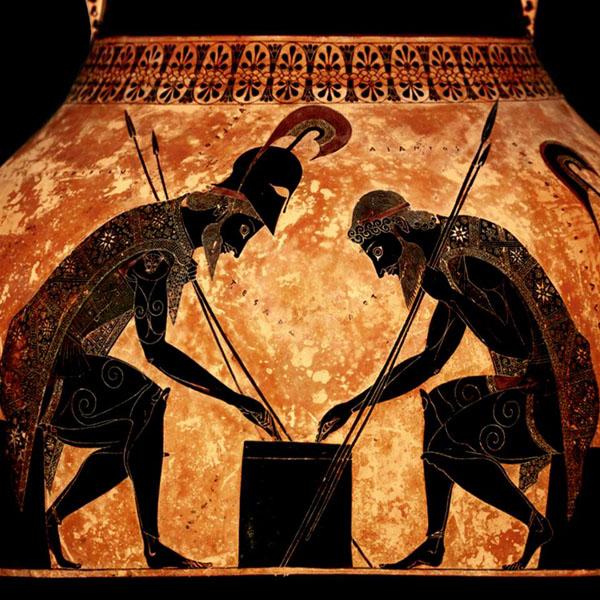 Айякс и Ахиллес игр- 530 г. до н.э.