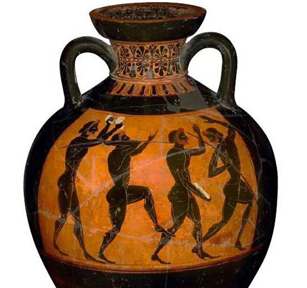 Афина-спортсмены древн. пятиборья1