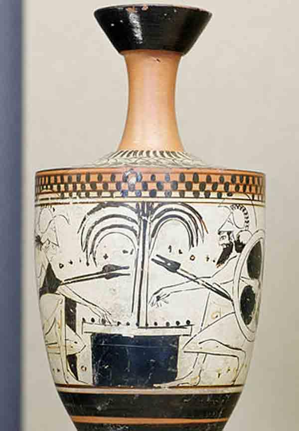 Лекиф- Ахилл и Аякс - 500 г. до н. э