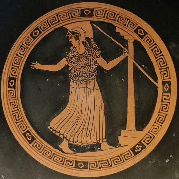 афина-промахос- vulci, 500-490 гг. до н.э